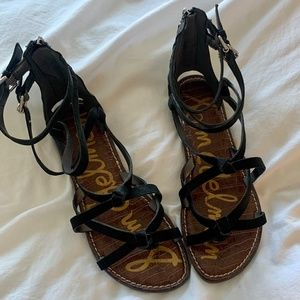 Sam Edelman Leather Knotted Sandals